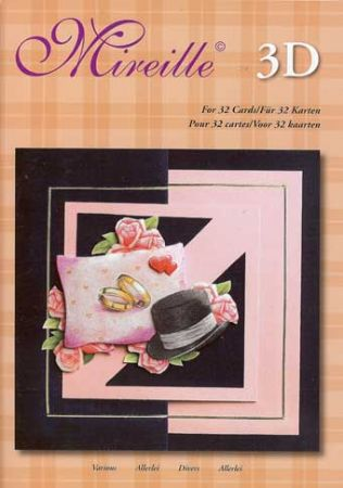 32 Occasions A5 3D Decoupage Craft Book
